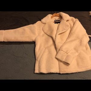 Super soft faux fur American Eagle coat